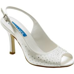 Shades 723 Nancy Dyeable Wedding Shoes - SALE