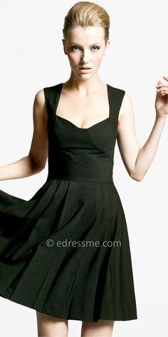 Possibly the best little black dress I've ever seen....