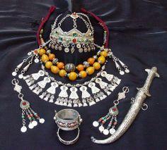 Tunisian Silver Jewels