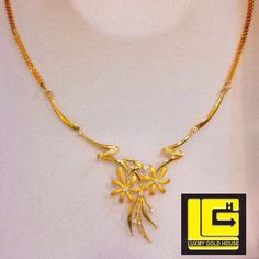 Designer light weight gold necklace for women - Simple Craft Ideas Gold Chain Design, Gold Jewellery Design, Gold Necklace, Gold Choker, Simple Necklace, Gold Earrings Designs, Necklace Designs, Golden Jewelry, Chains