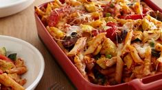 Get this all-star, easy-to-follow Baked Penne with Roasted Vegetables recipe from Giada De Laurentiis