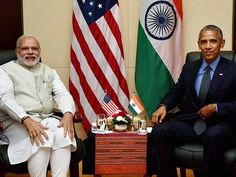 Narendra Modi and  Barack Obama at 28th and 29th ASEAN Summit