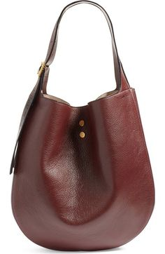 Jimmy Choo 'Mardy' Leather Shopper available at #Nordstrom