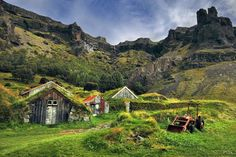 Fazenda Nupstadur, na Islândia