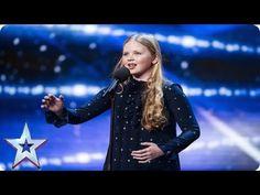 12 Year Old Tells Judges She Is Nervous, But When She Starts Performing - AMAZING - Aunty Acid Blog