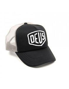 2af55b8e0f275 DEUS Baylands Trucker cap - Black-Grey