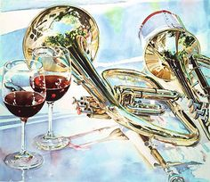 Musical Wine Glasses - etchings on the glass are music notes corresponding to the level of liquid. Description from pinterest.com. I searched for this on bing.com/images