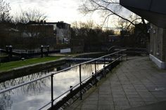 Mile End canal London.