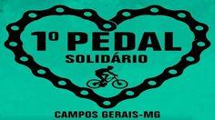 Pedal solidário em Campos Gerais