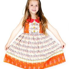 Coral Bee Sweet Mallory Dress
