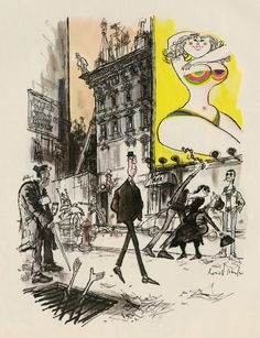 """Such a great read! """"6 Drawing Lessons That 'Inside Out' Story Artist Matt Jones Learned from Ronald Searle"""" on CartoonBrew.com 
