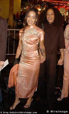 Celebrity BFF   Cree Summer and Lilakoi Moon (Lisa Bonet)