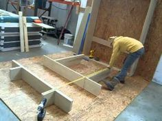 Lori Wall Bed DIY VIDEO Assembly Chapter Only - YouTube