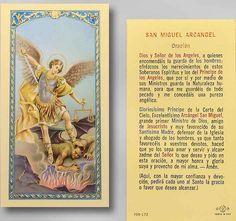 san miguel arcangel prayer in spanish