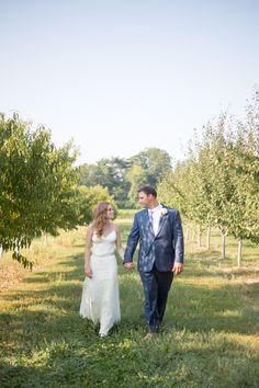 Laura Barclay Photography | Haley + Jordy - Niagara Falls summer wedding