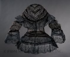 Canezou blouse ca. 1855  From the FIDM Museum Blog