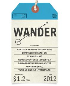 luggage tag + supporters   onwander