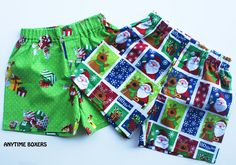 Christmas Boxers Christmas gift for Boys Boxer by restintheword