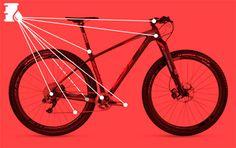 Guía práctica con los ocho puntos de engrase de una bicicleta más propensos a producir crujidos y, sin embargo, muy sencillos de engrasar.