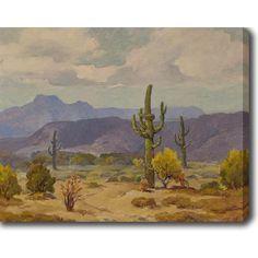 YGC The Desert' Oil on Art