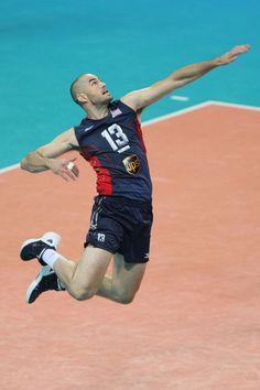 Clayton Stanley, USA Men's Volleyball - superman :)