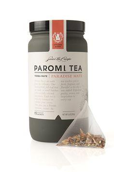 Paromi Tea Label