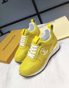 239d0712fe50 Louis Vuitton Track Shoe Yellow 01 · N. Savage Inc · Online Store Powered by