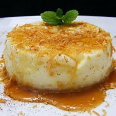 Coconut Custard Pudding