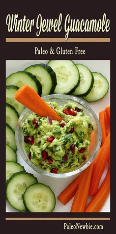 Easy guacamole recipe with a unique twist: pomegranate seeds! Sounds odd...but tastes amazing! A must-try this winter while pomegranates are still in-season.