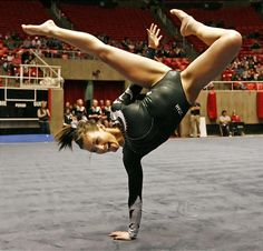 Gymnast - She was one of my favorites when she was in college :)