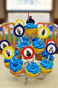 This one may be more for me... a LEGO Birthday Party! Awesome!
