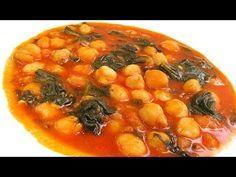 Receta Potaje de garbanzos con bacalao y espinacas, Monsieur Cuisine, SilverCrest Lidl - YouTube