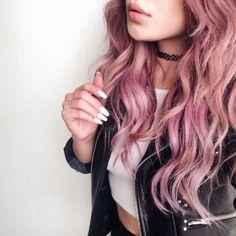 cabello rosa pastel tumblr - Buscar con Google