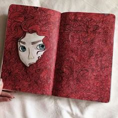 Two Page Spread Merida Drawing
