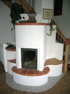 Dieser Grundofen verbreitet Wärme im ganzen Haus