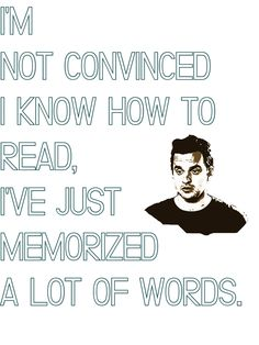 So true!! this got me thinking if i acutally am writing this cause of i know how to spell or cause i think i remember now the letters were orgnaized in my head???