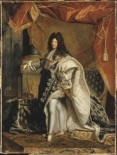 Portrait of Louis XIV, After Hyacinthe Rigaud, Paris, about 1701.