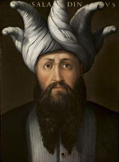 Saladin by Cristofano dell'Altissimo (Florence, 1525-1605)