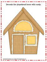 Play Dough Mat Gingerbread house - make it a playdough mat to decorate or a math mat to count candy decorations to match a number. Preschool Christmas, Christmas Activities, Christmas Themes, Kids Christmas, Preschool Winter, Preschool Math, Christmas Vacation, Kindergarten Math, Preschool Ideas