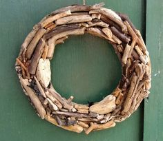 Wreath made from Cornish driftwood, Christmas time or all year round decoration. £12.99