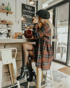 20 Edgy Fall Street Style 2018 Outfits To Copy Casual Fall Fashion Trends & Outfits 2018 The post 20 Edgy Fall Street Style 2018 Outfits To Copy & Women's Fashion. appeared first on Fall outfits . Autumn Fashion Casual, Fall Fashion Trends, Autumn Winter Fashion, Fashion Ideas, Autumn Aesthetic Fashion, Edgy Fall Outfits, Spring Fashion, Fall Grunge Fashion, Fall Trends