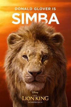 The Lion King Rises! See All the Character Posters for the Live-Action Film The Lion King Rises! See All the Character Posters for the Live-Action Film Le Roi Lion 1, Le Roi Lion Film, Le Roi Lion Disney, Simba Disney, John Oliver, Donald Glover, Danny Glover, Watch The Lion King, Lion King Movie