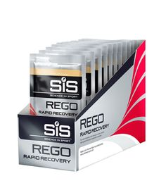 SIS REGO RAPID RECOVERY (18 Sachets) - High carbohydrate and protein recovery formula to aid rapid recovery after exercise. Helps replenish your energy stores fast. Protein promotes the rebuild of muscle tissue. Soy protein ideal for lactose intolerant individuals.