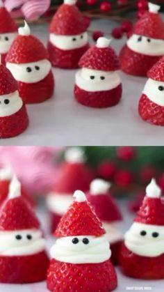 Christmas Deserts, Holiday Snacks, Christmas Party Food, Christmas Brunch, Xmas Food, Christmas Breakfast, Christmas Appetizers, Christmas Cooking, Christmas Cupcakes
