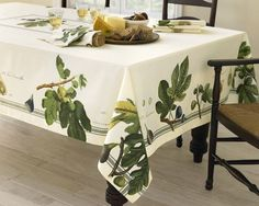 Botanical Fig Tablecloth