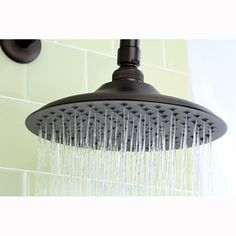 $59  Victorian Oil Rubbed Bronze 8-inch Shower Head - Overstock™ Shopping - its just the shower head though, the arm is 38.99