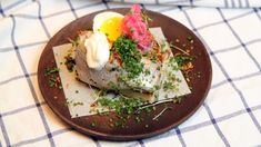 Foto: Tone Rieber-Mohn / NRK Ciabatta, Eggs, Baking, Breakfast, Morning Coffee, Bakken, Egg, Bread, Backen