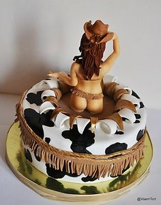 cowgirl cake (bachelor party)