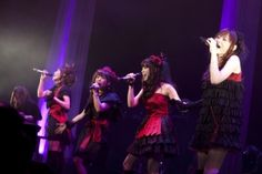 FictionJunction:  During Kajiura Yuki Live #3. I really love their outfit in this live. It's shame it never really release in dvd... :(