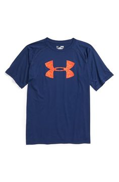 Under Armour 'Big Logo' T-Shirt (Big Boys) available at #Nordstrom